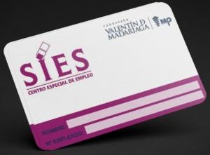 Ejemplo tarjetas PVC muestra