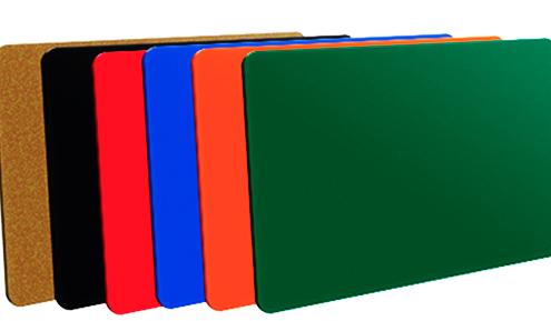 Colores base para tarjetas pvc