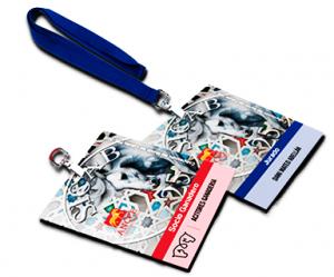 Tarjetas PVC para eventos